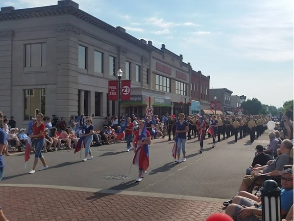 2018 Zeeland Memorial Day parade