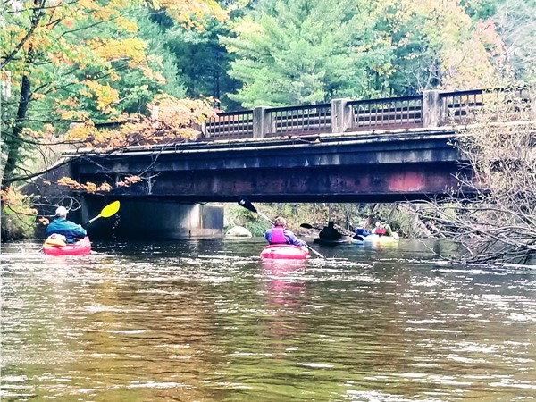 Fabulous fall kayaking on the Boardman River