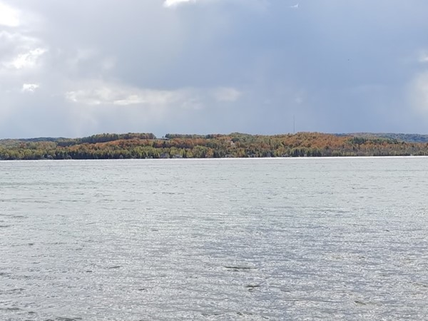 Love the colors on Lake Leelanau