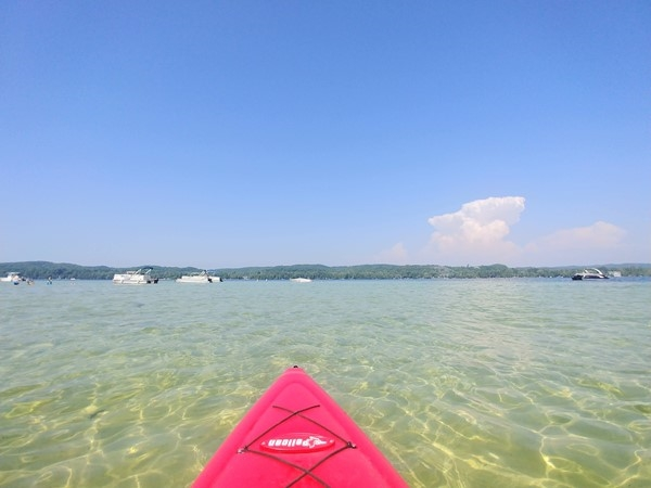 Lake Leelanau ...a favorite for kayaking on a calm day