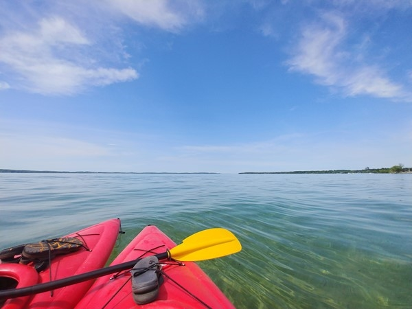 So many beautiful places to paddle...Lake Michigan, inland lakes, rivers - find your favorite