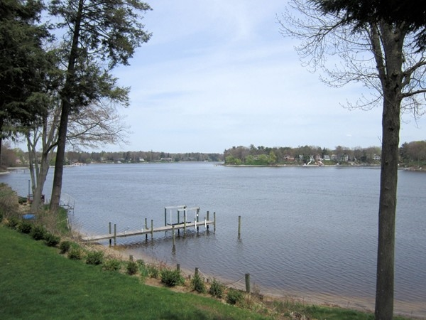 View from Lovell Park on Spring Lake