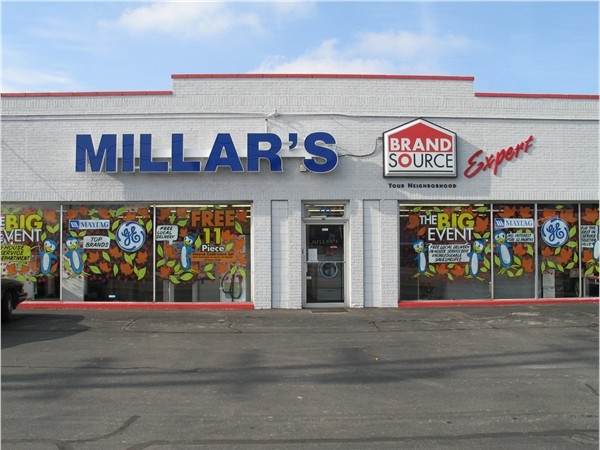 Locally owned Millars Appliances