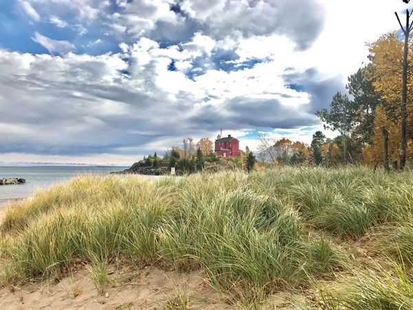 The Marquette Harbor Lighthouse is one of the most picturesque lighthouses in the world