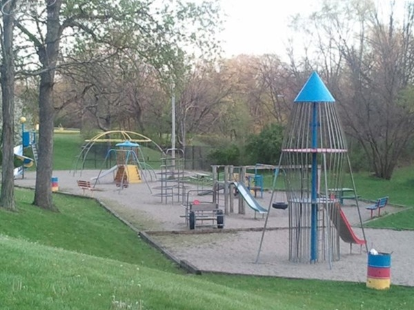 Mott Park neighborhood playground