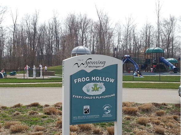 Frog Hollow Park. Your kids will love it
