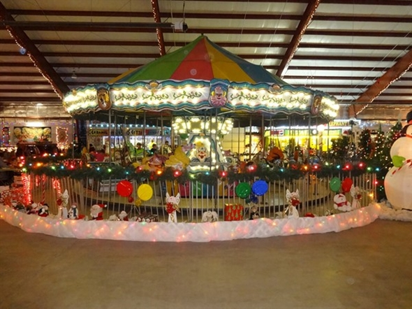 Santa's Village at the Saginaw County Fairgrounds