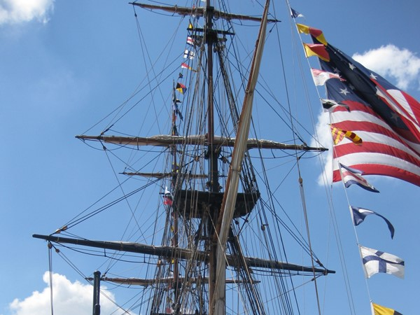 Essexville Park has all kinds of festivals and every couple of years the Tall Ships visit our town