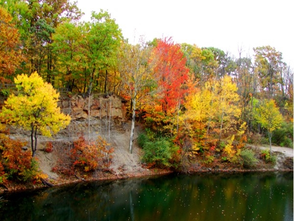 The Ledges in the fall