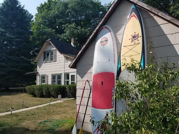 Make time to paddle board!  Lake Michigan awaits.......