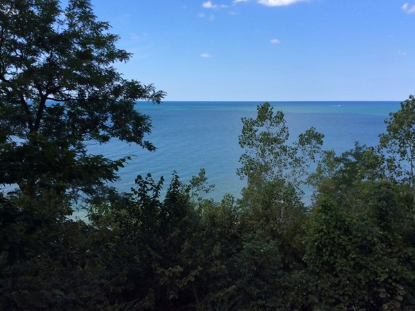 Lake Michigan view from M-63, Benton Harbor