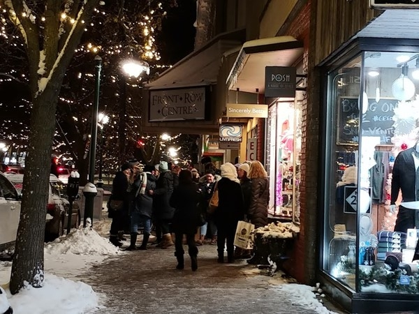 Catch up with friends Downtown during Ladies Shopping Night in December