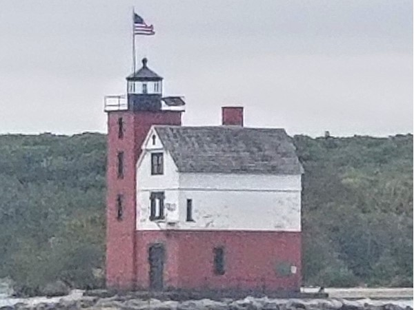 Lighthouse from ferry crossing