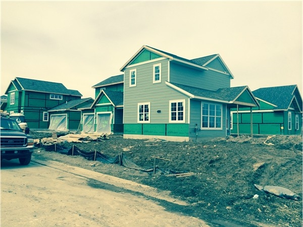 New construction detached units