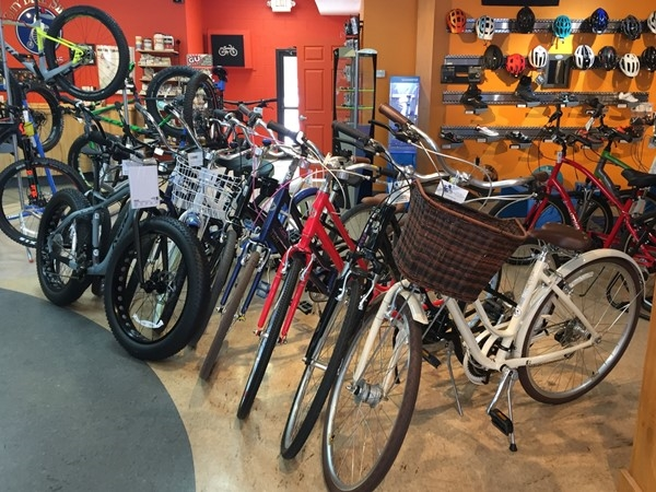Check out City Bike Shop to pick out a cruiser bike for your summer transportation